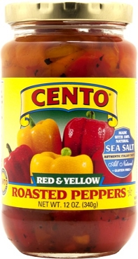 Cento Red & Yellow Roasted Peppers