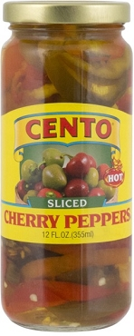 Cento Sliced Cherry Peppers